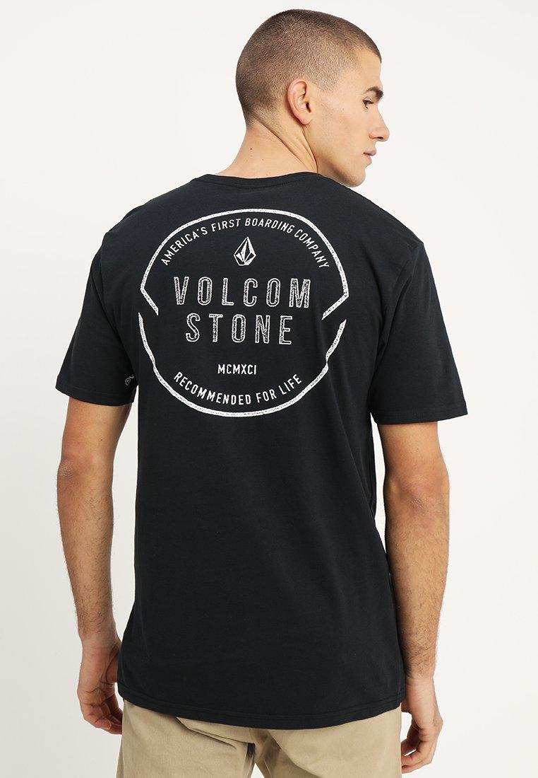 Volcom - CHOP AROUND - Camiseta estampada - black