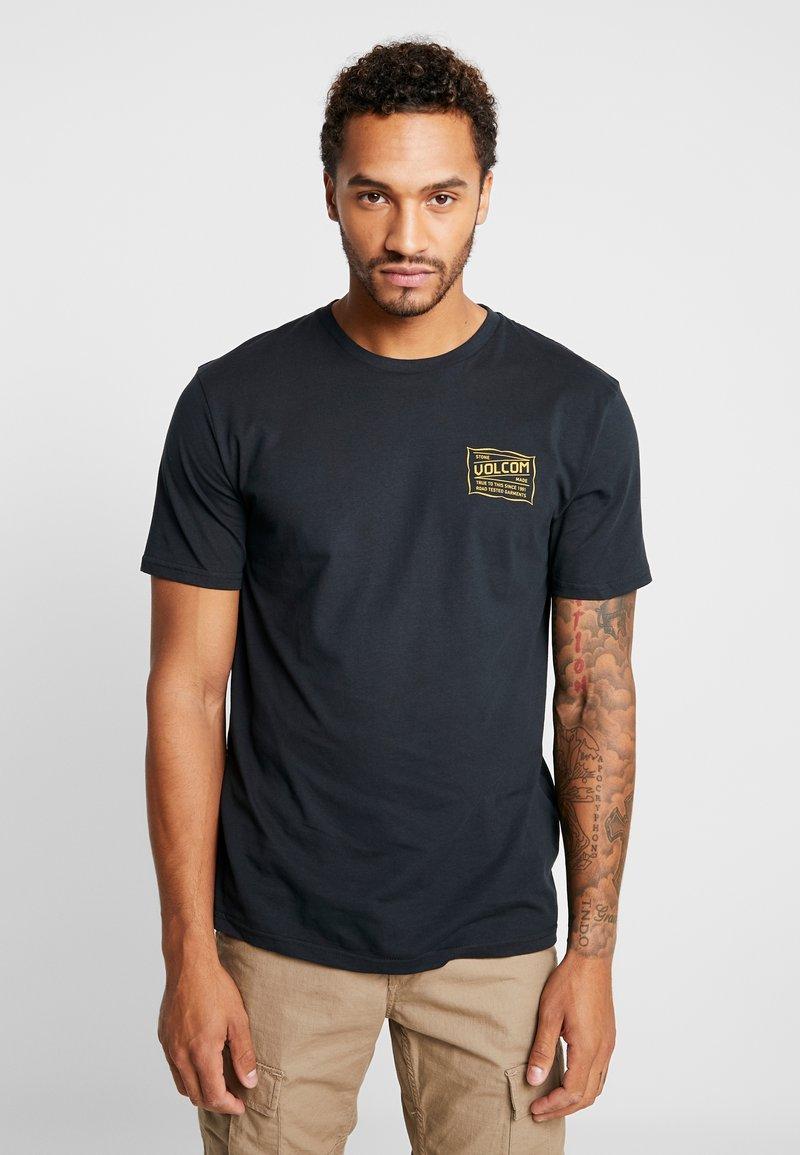 Volcom - ROAD TEST  - T-Shirt print - black