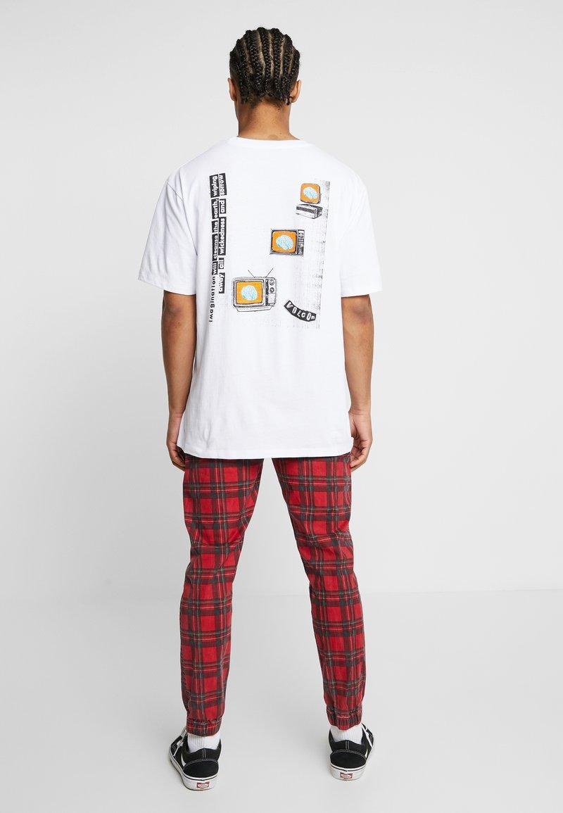 Volcom - THINKER - Print T-shirt - white