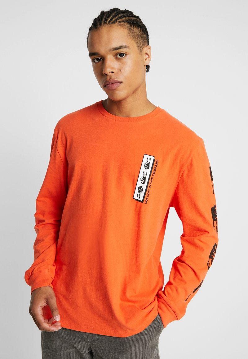 Volcom - PEACE GRID - Long sleeved top - tigerlily