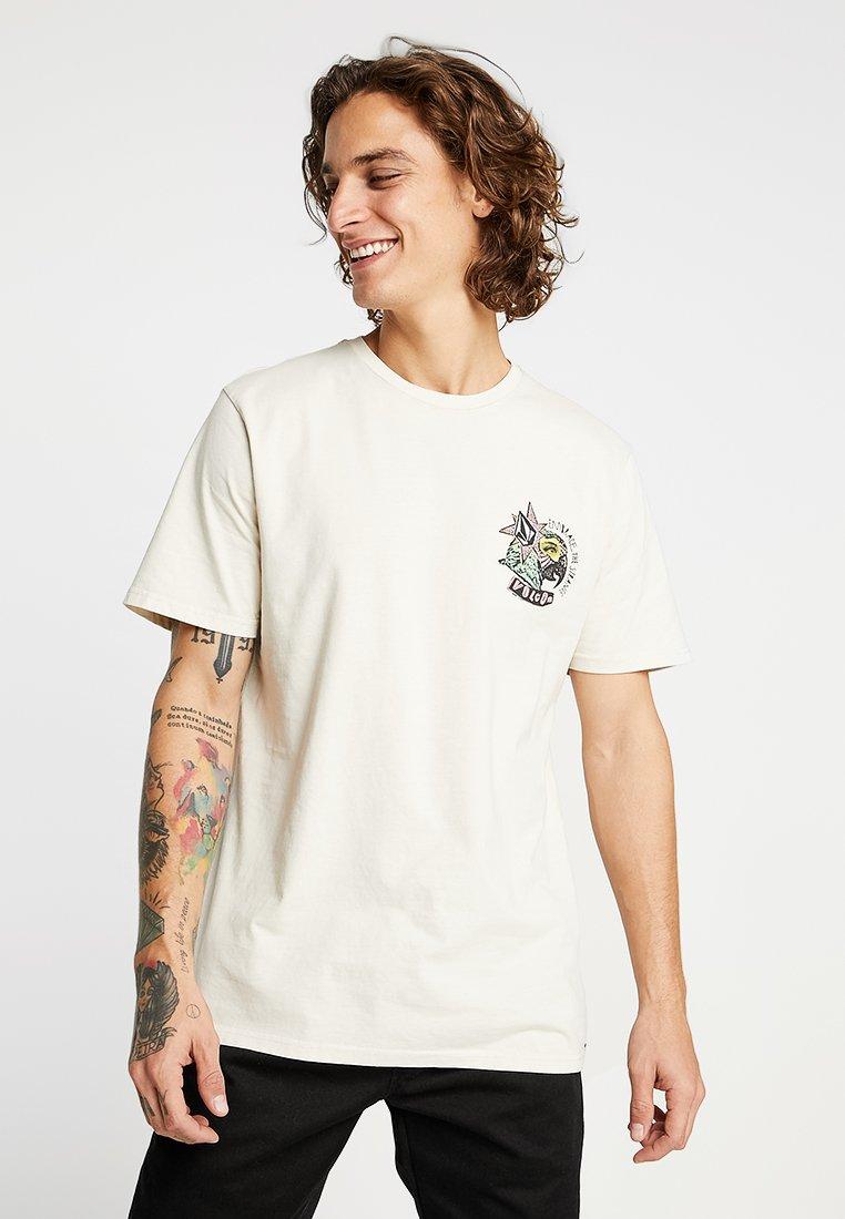 Volcom - PARTY BIRD TEE - Camiseta estampada - white flash