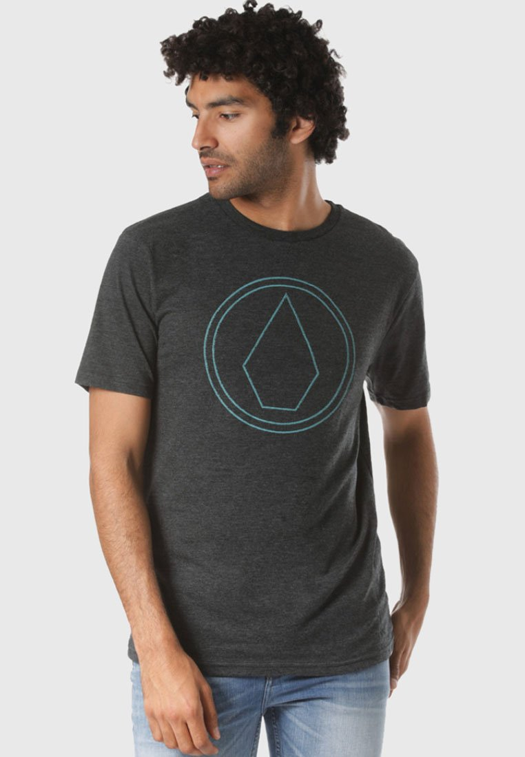 Volcom - REGULAR FIT - T-shirt imprimé - black
