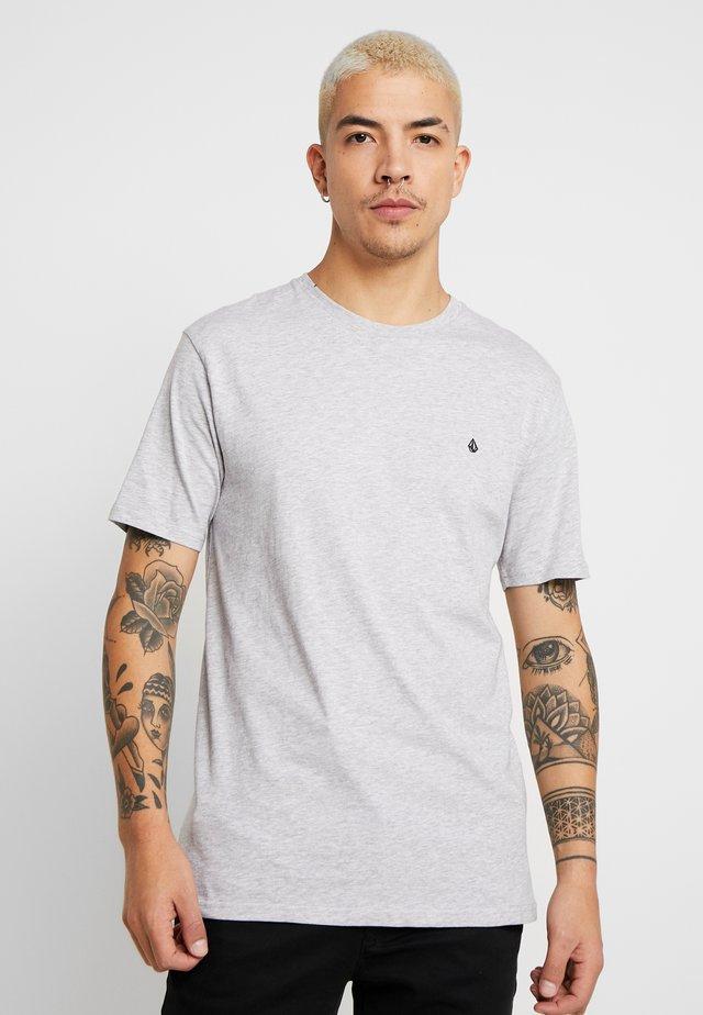 BLANKS - T-Shirt basic - mottled light grey