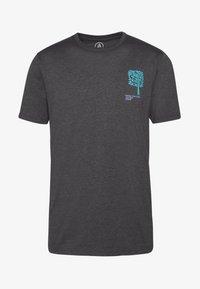 Volcom - GROWN - Camiseta estampada - anthracite - 5