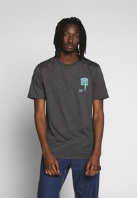 Volcom - GROWN - Camiseta estampada - anthracite - 0
