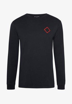 TEMPLE - T-shirt à manches longues - black