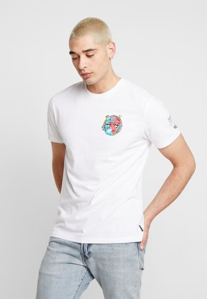 FREAKS CITY  - T-shirt med print - white