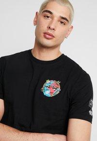 Volcom - FREAKS CITY  - Camiseta estampada - black - 3