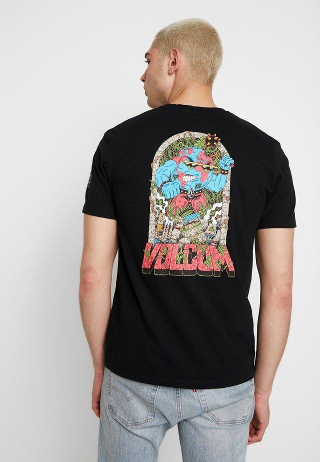FREAKS CITY  - T-shirt imprimé - black