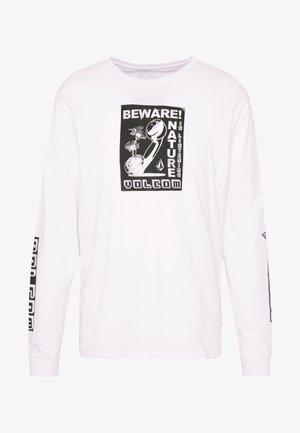 LISTEN - T-shirt à manches longues - white