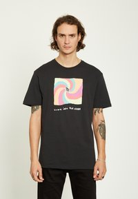 Volcom - EARTH PEOPLE - Camiseta estampada - black - 0