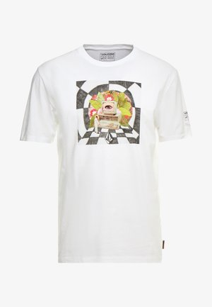 SCHNIPPS - T-shirt con stampa - white