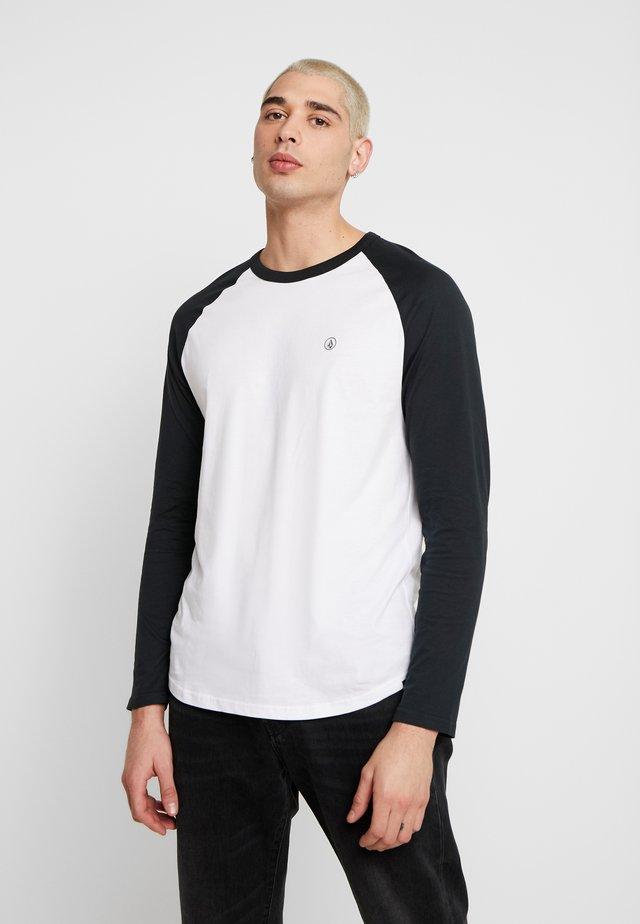 PEN  - T-shirt à manches longues - black