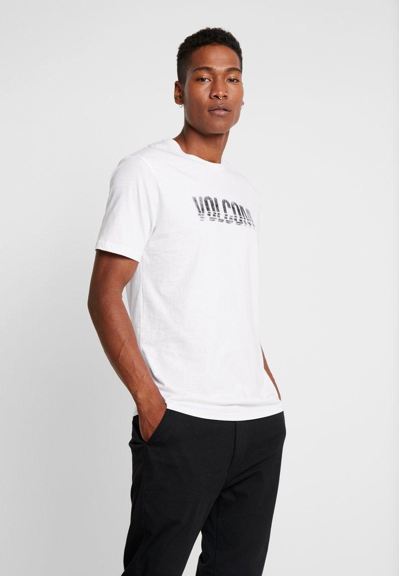 Volcom - CHOPPED EDGE - T-shirt med print - white