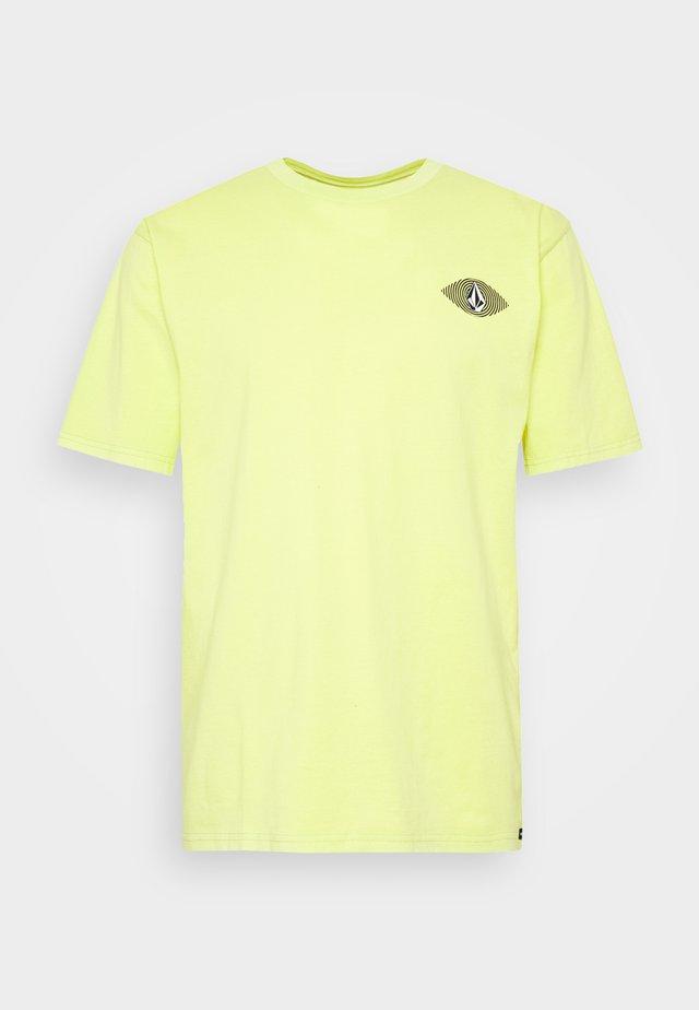 VISIONS  - T-Shirt print - hilighter green