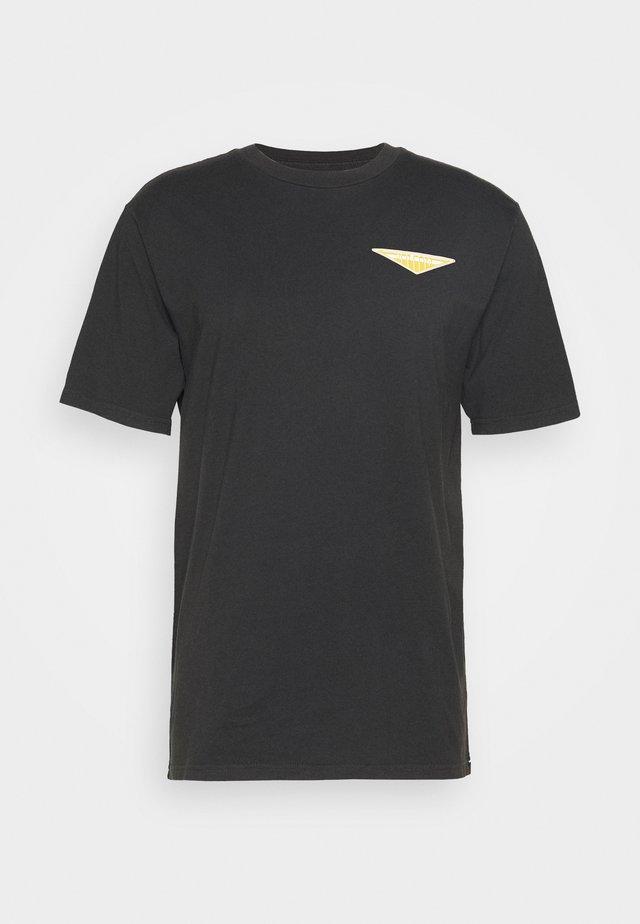 BRIGHT TEE - T-Shirt print - black