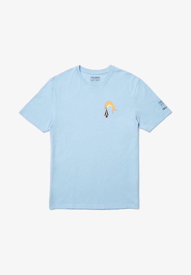 AYERS - T-shirt imprimé - blue
