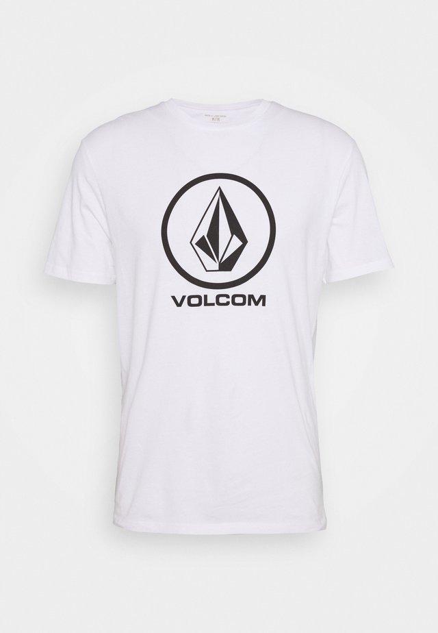 CRISP STONE - T-shirts print - white