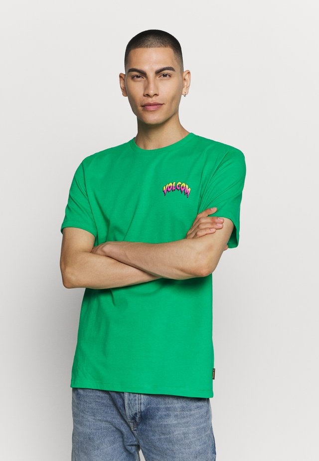 MICHAEL WALRAVE  - T-shirt con stampa - scaromatic green