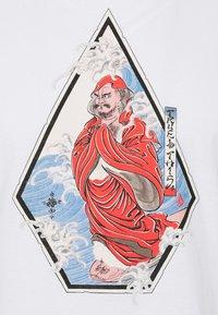 Volcom - NOZAKA SURF - Print T-shirt - white - 2