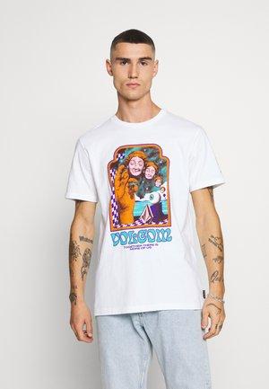 MAX LOEFFLER - Camiseta estampada - white