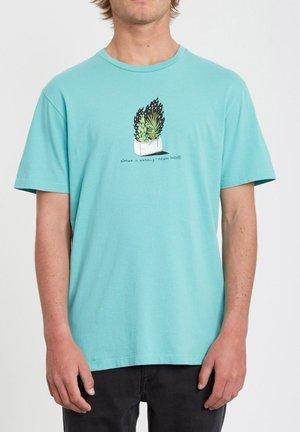 CINDER - Camiseta estampada - mysto_green