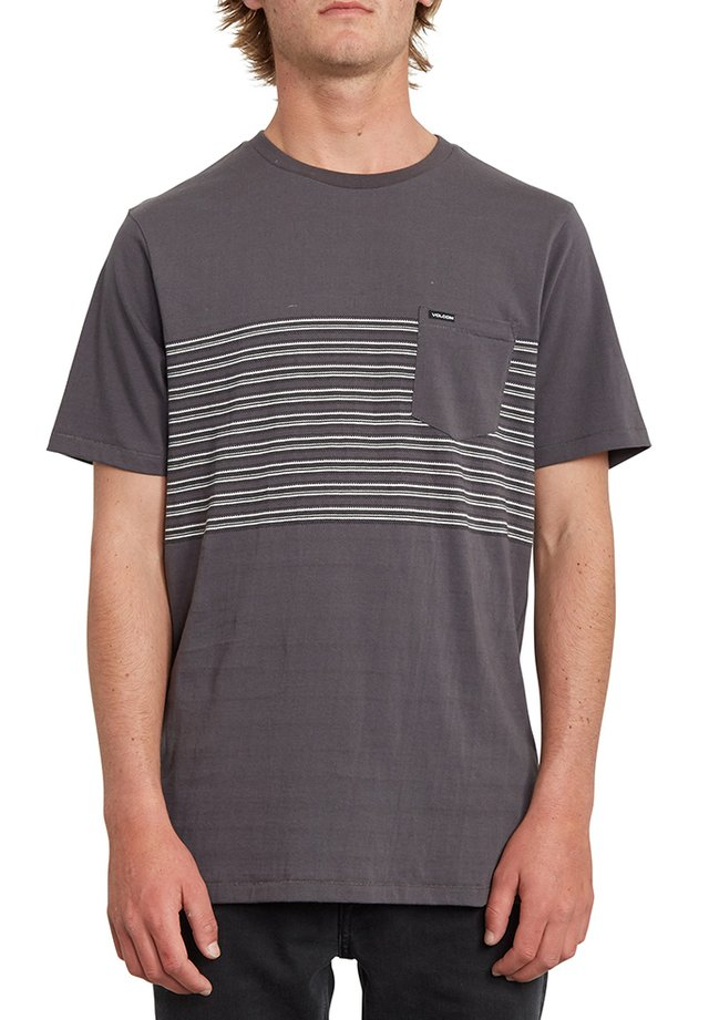 FORZEE - Print T-shirt - grey