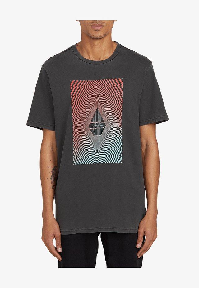 FLOATION  - T-shirt imprimé - black