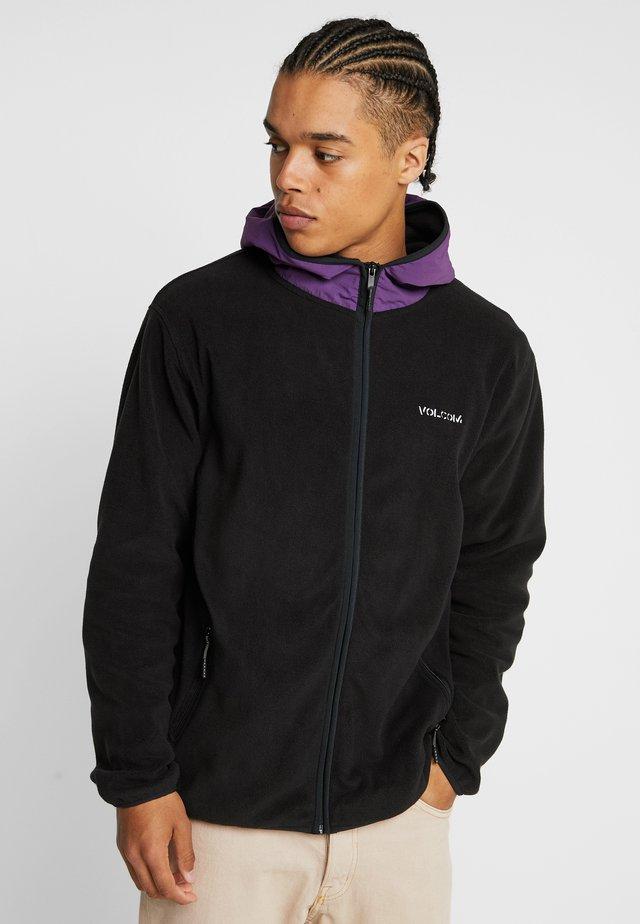 ATAVIC ZIP - Fleecová bunda - black