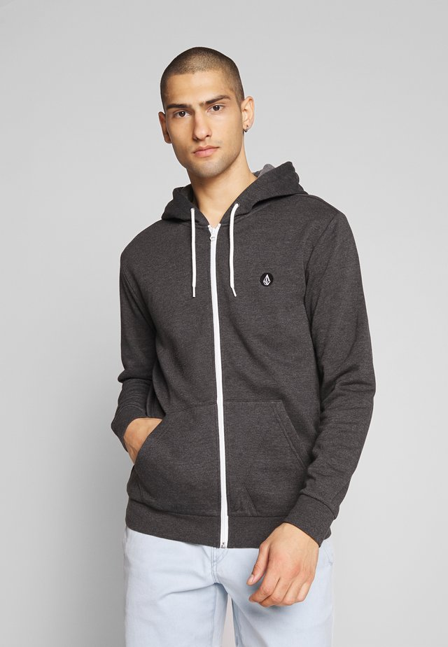 ICONIC ZIP - Zip-up hoodie - anthracite