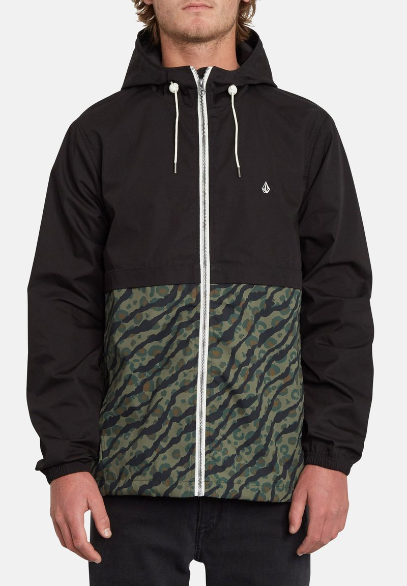 Volcom - HOWARD - Impermeable - military