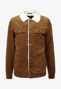 Volcom - KEATON JACKET - Light jacket - mud - 5