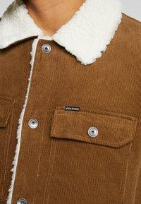 Volcom - KEATON JACKET - Light jacket - mud - 6