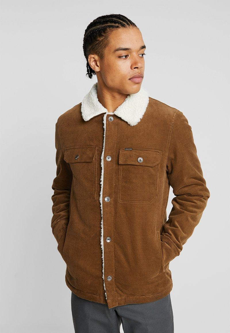 Volcom - KEATON JACKET - Light jacket - mud