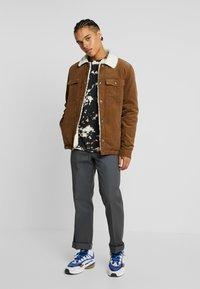 Volcom - KEATON JACKET - Light jacket - mud - 1