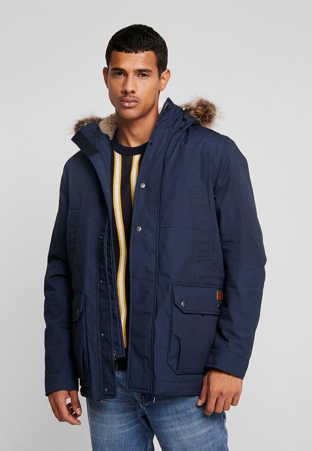 LIDWARD  - Zimní kabát - navy