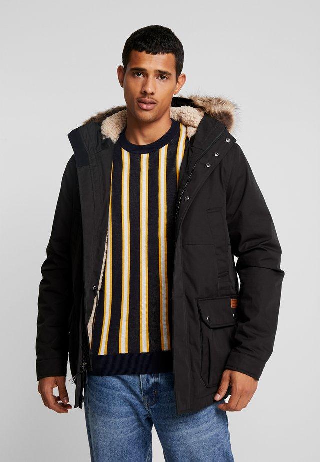 LIDWARD  - Zimní kabát - black