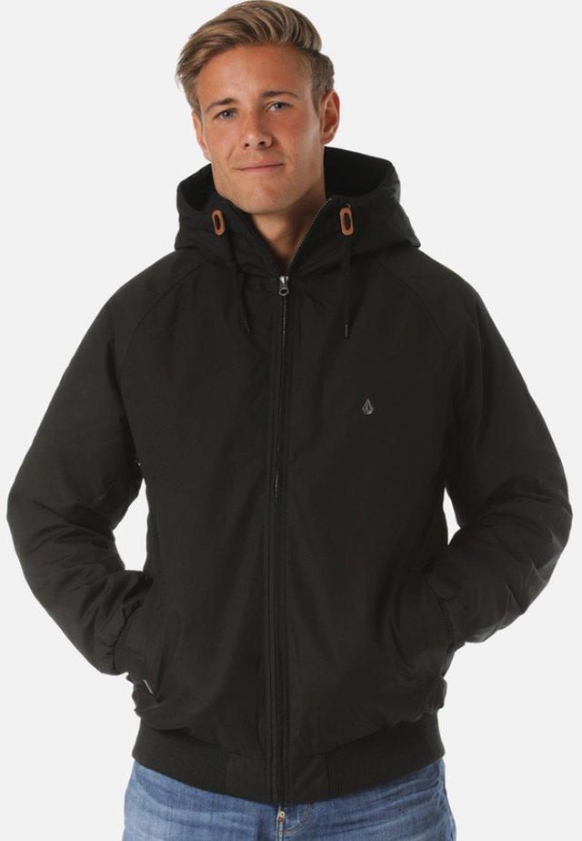 VESTE HERNAN 5K - VESTE HOMME - BLEU - Winter jacket - black