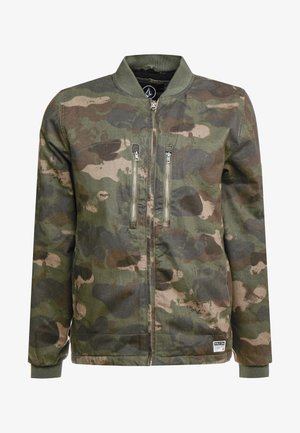 BLACKWATCH JACKET - Bomber bunda - khaki