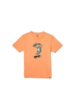 Camiseta estampada - orange
