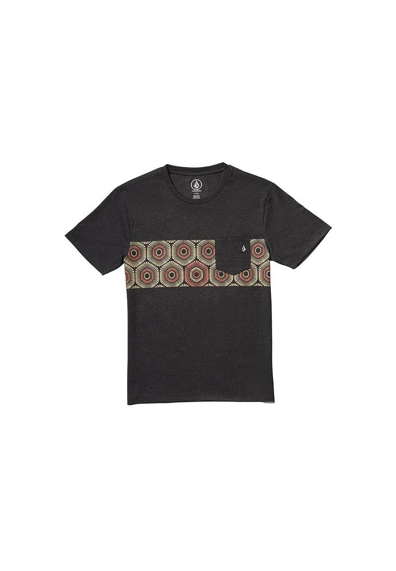 Volcom - Camiseta estampada - black