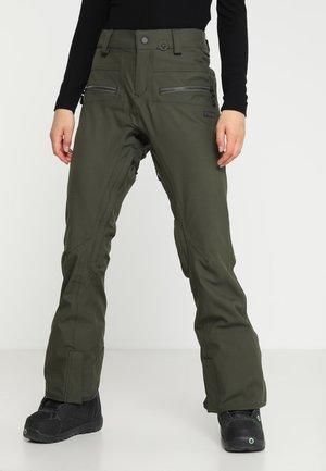 IRON STRETCH PANT - Pantaloni da neve - forest