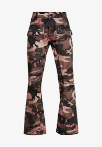 Volcom - LEO 9.0 STRETCH PANT - Skibroek - faded army