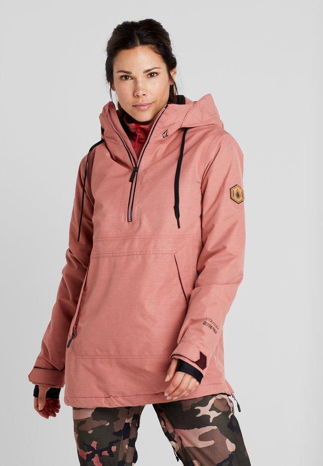 FERN INS GORE - Snowboard jacket - mauve