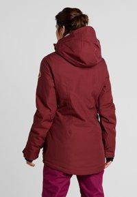 Volcom - SHELTER - Snowboard jacket - scarlet - 2