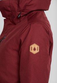 Volcom - SHELTER - Snowboard jacket - scarlet - 8