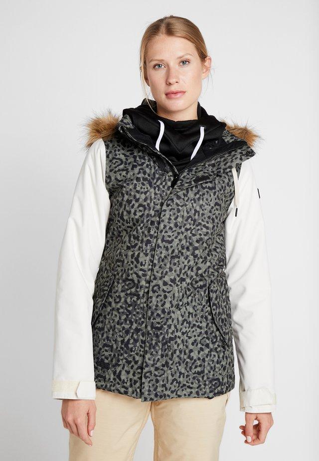 FAWN JACKET - Snowboard jacket - green