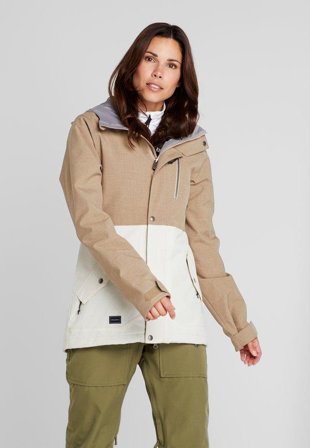 ASHLAR INS JACKET - Snowboardová bunda - sand brown