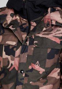 Volcom - KUMA JACKET - Snowboard jacket - faded army - 9