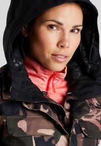 Volcom - KUMA JACKET - Snowboard jacket - faded army - 3